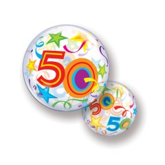 Bubble Ballon 50 Jaar