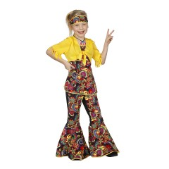 7f60f4f24eac3e Blouse Smiley  Hippie geel