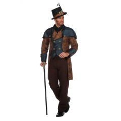 Steampunk blue