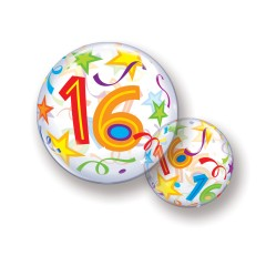 Bubble Ballon 16 Jaar
